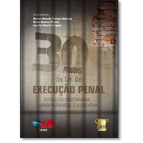 30 Anos da Lei de Execução Penal - Evolução Doutrinária, Jurisprudencial e Legislativa