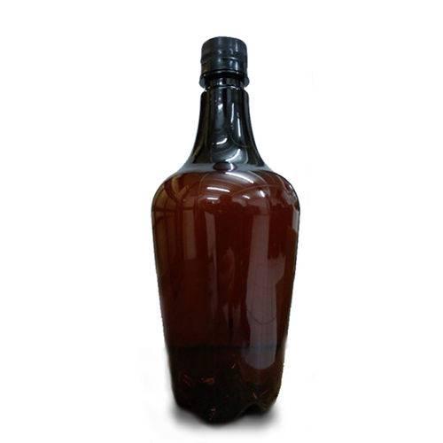 30 Growlers Pet 1 Litro P/ Cerveja com Âmbar- Reutilizável/Primming/Consumo