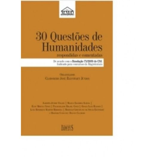 30 Questoes de Humanidades - Impetus