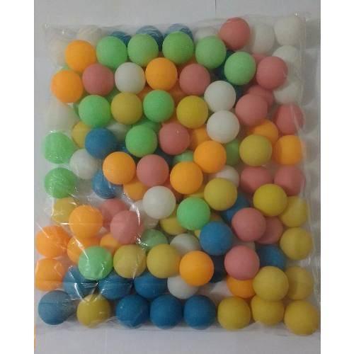 300 Bolas Ping-pong Coloridas (mistas)