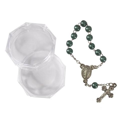 Mini Terço com Embalagem Italiana | SJO Artigos Religiosos