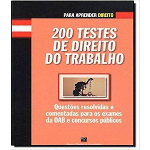 200 Testes de Direito do Trabalho