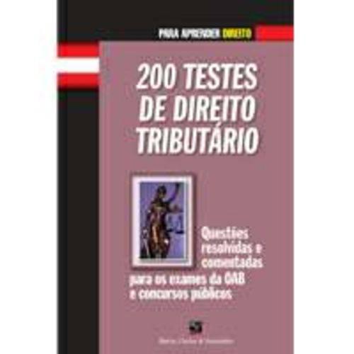200 Testes de Direito Tributario