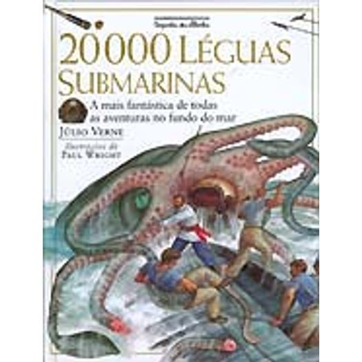 20000 Leguas Submarinas - Cia das Letrinhas