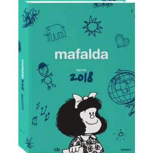 2018 Agendas - Mafalda Día por Página
