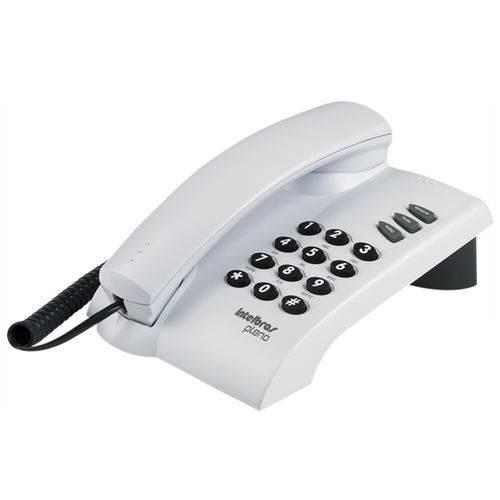 Telefones com Fio Intelbras Icon 4080055 Pleno Cinza Artico 3 Volumes Campainha Sem Chave