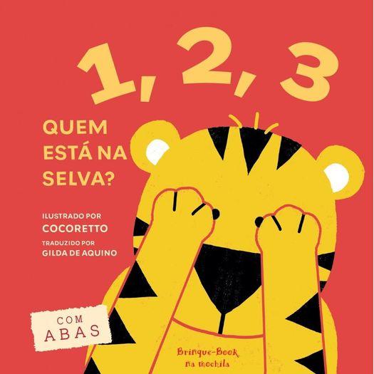 1 2 3 Quem Esta na Selva - Brinque Book