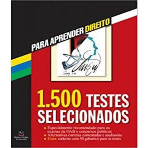 1.500 Testes Selecionados - 06 Ed