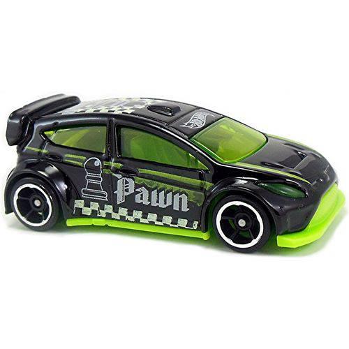12 Ford Fiesta - Carrinho - Hot Wheels - Checkmate - 9/9 - 139/365 - 2017 - Dkndq