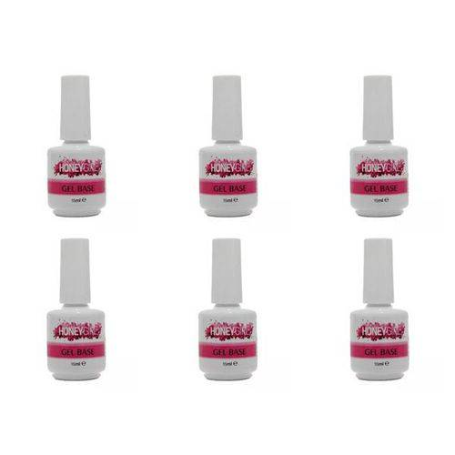 12 Gel Base ( Primer ) Led Uv Honey Girl 15 Ml