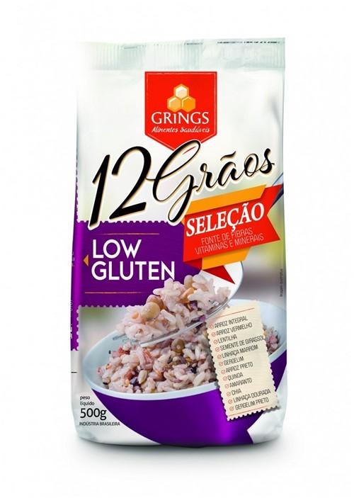 12 Graos Low Gluten 500g - Grings