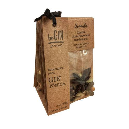 2 Kits 6 Sachês de Especiarias para Gin Tônica - BeGIN Spices