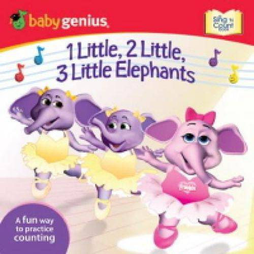 1 Little, 2 Little,3 Little Elephants - a Fun Way To Practice Counting - Meadowbrook