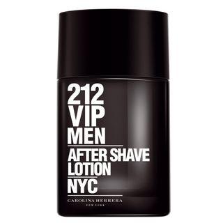 212 Vip Men After Shave Lotion Carolina Herrera - Loção Pós-Barba 100ml