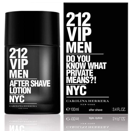 212 Vip Men After Shave Masculino de Carolina Herrera 100ml