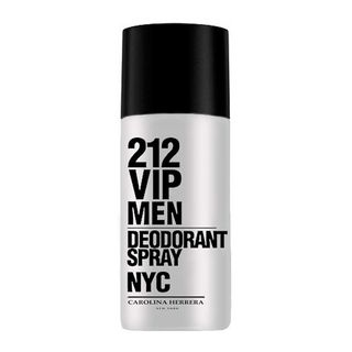 212 Vip Men Desodorante Spray Carolina Herrera - Desodorante Masculino 150g