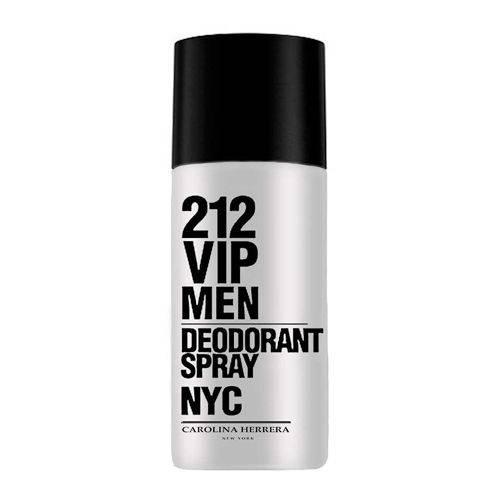 212 Vip Men Desodorante Spray Carolina Herrera - Desodorante Masculino