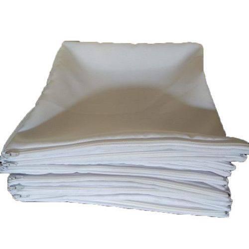 2 Capas de Almofadas 40x40 para Sublimação Toda Branca