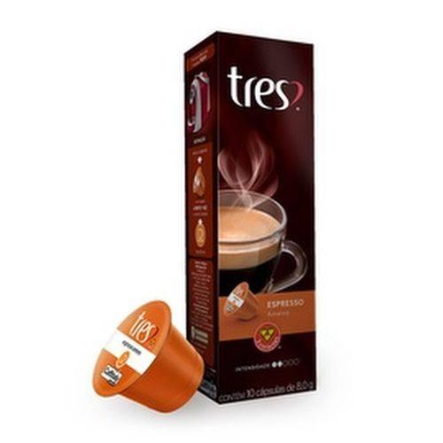10 Cápsulas de Café Espresso Ameno 3 Corações
