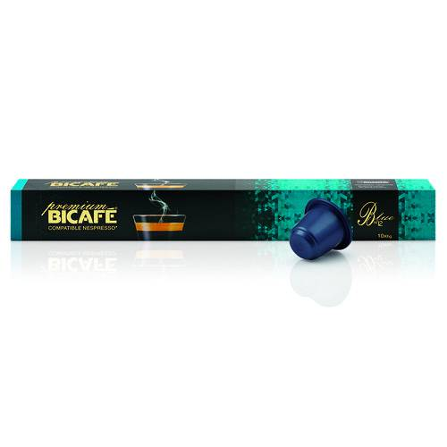 10 Cápsulas para Nespresso Bicafé Blue