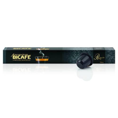 10 Cápsulas para Nespresso Bicafé Ristretto