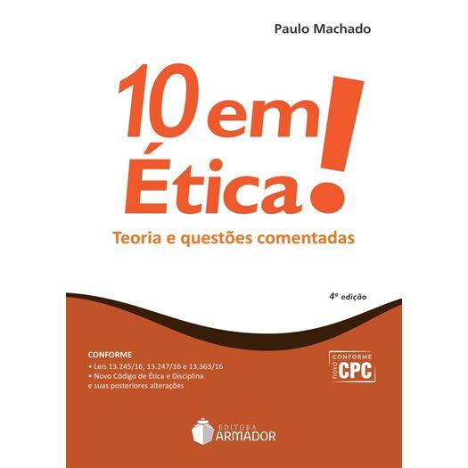 10 em Etica - Juspodivm - 4 Ed