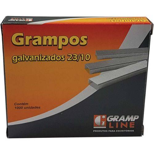 23/10 Galvanizado 1000 Grampos (7909549202674)