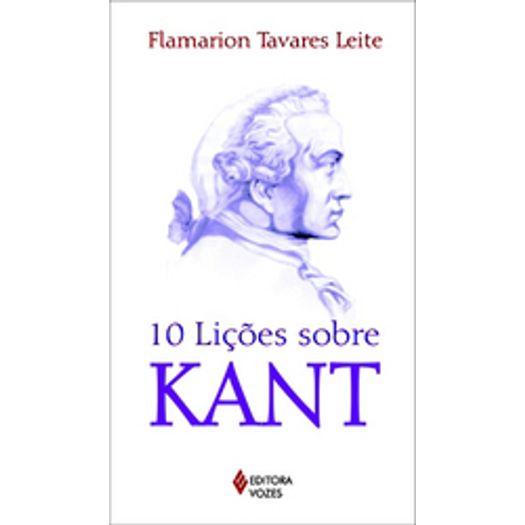 10 Licoes Sobre Kant - Vozes