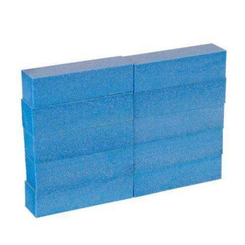 10 Lixas Bloco Fecha Poro Polir Azul
