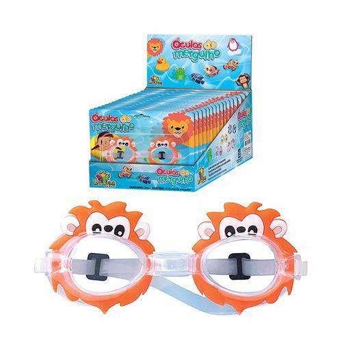 10 Óculos para Mergulho Formato Regulável Infantil Leão-sapo