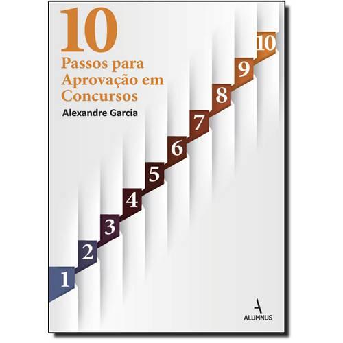 10 Passos para Aprovação em Concursos