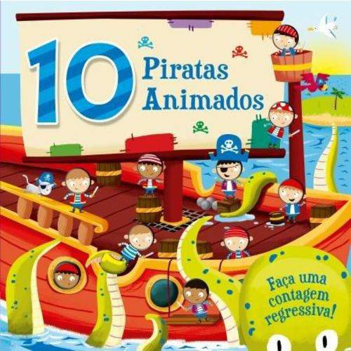 10 Piratas Animados