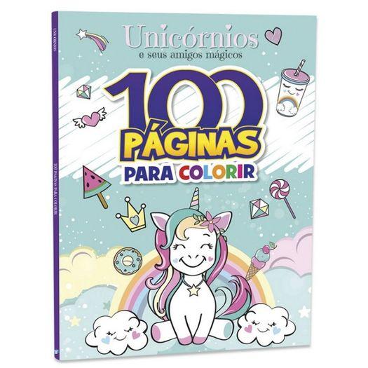 100 Paginas para Colorir - Unicornios - Bicho Esperto