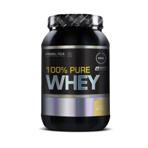 100% Pure Whey 900g Baunilha - Probiotica ( + Luca Caleira )