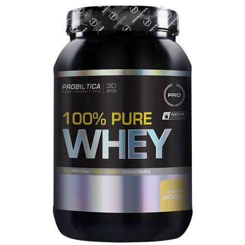 100% Pure Whey - 900g - Probiótica - Baunilha