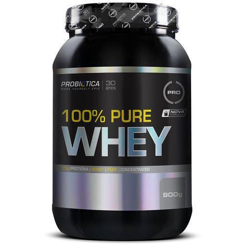 100% Pure Whey 900g - Probiótica - Probiotica