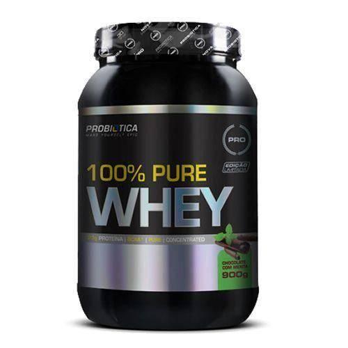 100% Pure Whey - Chocolate C/ Menta 900g - Probiótica