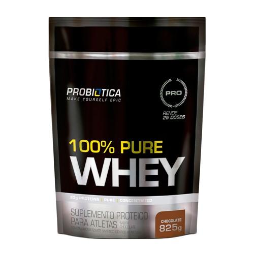 100% Pure Whey Probiótica Chocolate 825g