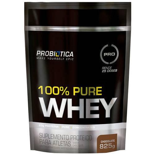 100% Pure Whey Protein Refil 825G Chocolate - Probiótica