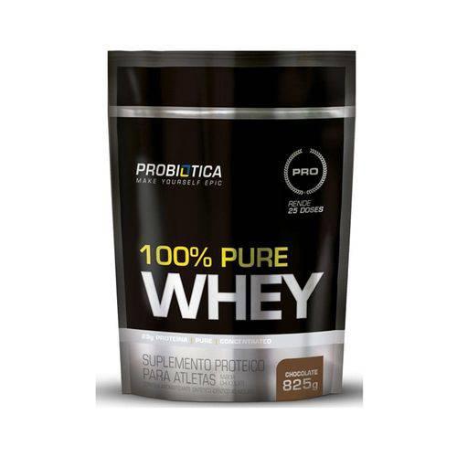 100% Pure Whey Refil 825g - Chocolate - Probiótica