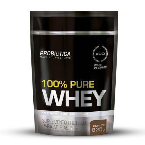100% Pure Whey - Refil - 825g - Probiótica - Chocolate