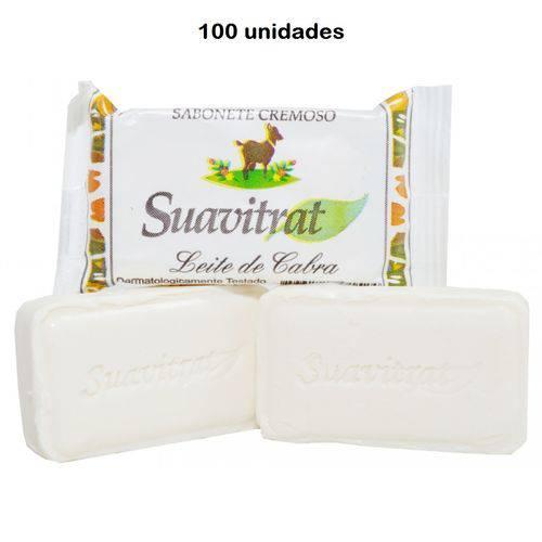 100 Unidades Sabonete Ubon Leite de Cabra 15 Gramas