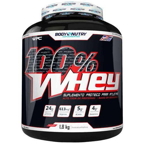 100% Whey - 1,8kg - Body Nutry - Morango