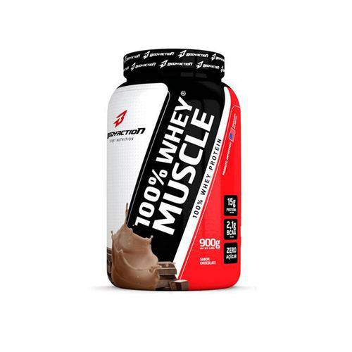 100% Whey Muscle 900g Body Action