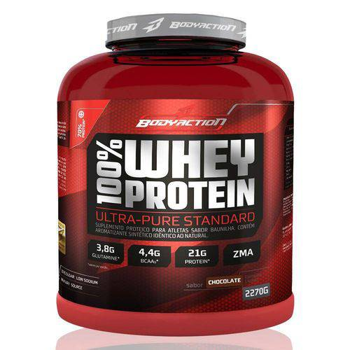 100% Whey Protein - Body Action - 2.270g