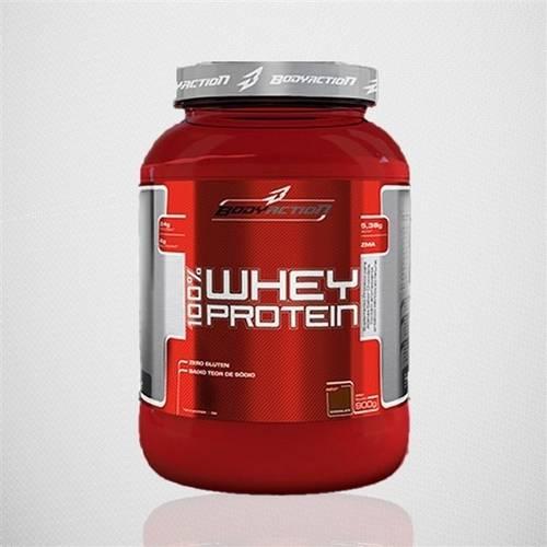 100 Whey Protein - Bodyaction - 900g - Baunilha