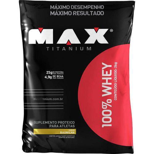 100 Whey Refil - Max Titanium (2kg)-Chocolate