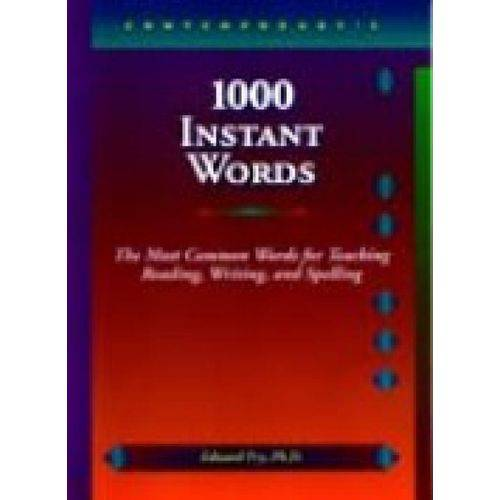 1000 Instant Words - Ntc Publishing Group