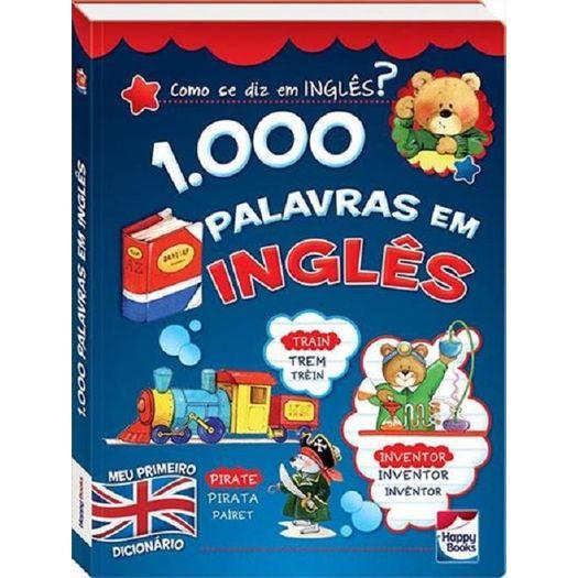 1000 Palavras em Ingles - Happy Books