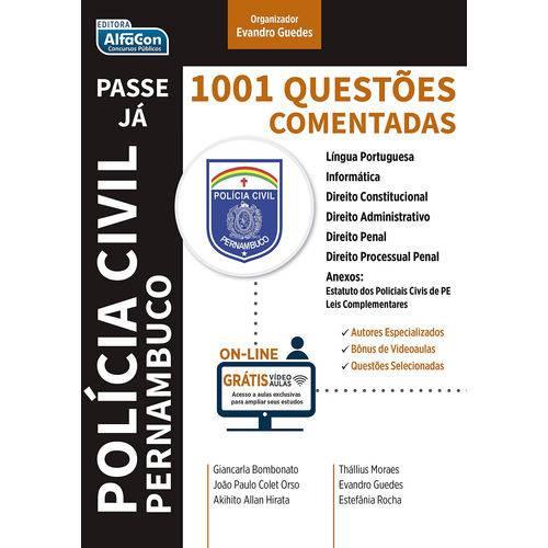1001 Questões Comentadas Pc-pe